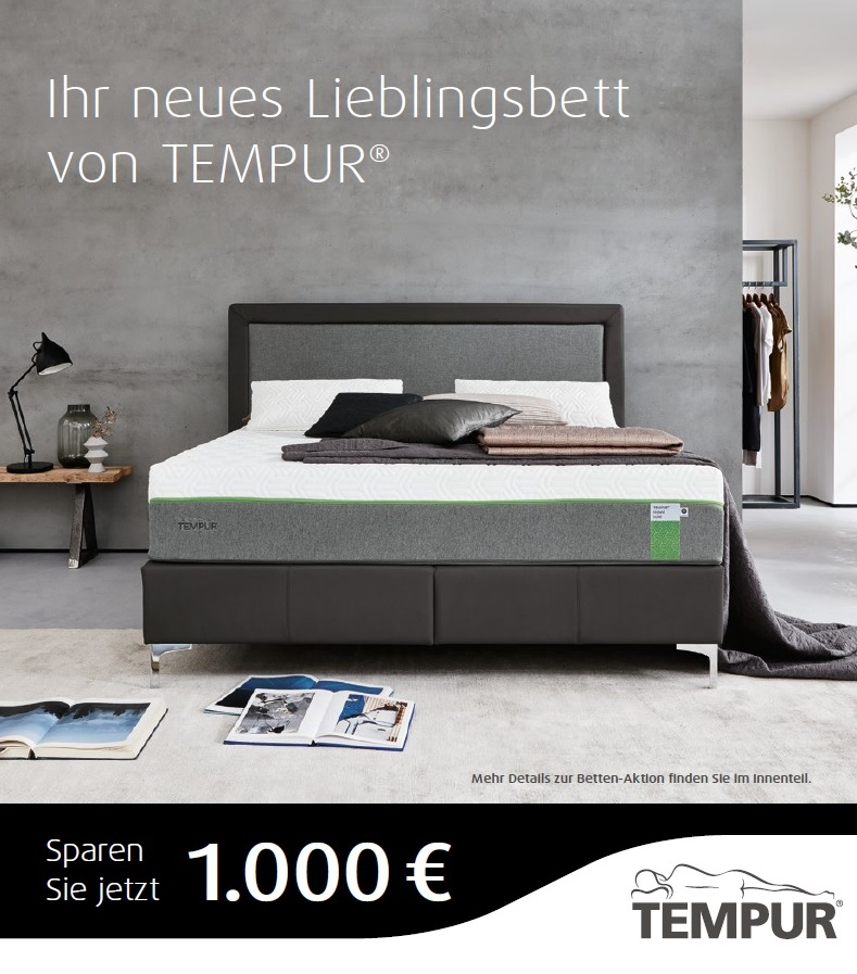 TEMPUR® Bettenaktion
