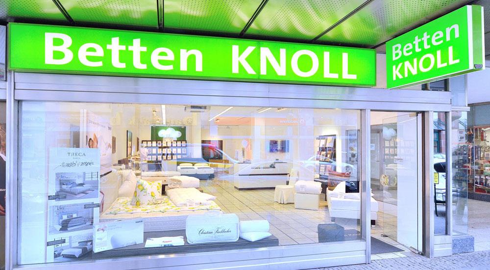 Betten Knoll Filiale Mannheim